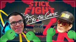A cobra gigante grudou em mim! ft. Silvio Santos do CS | Stick Fight: The game