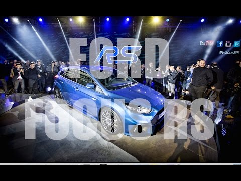 FORD FOCUS RS 2016 GLOBAL REVEAL - First Look with Ken Block Display.