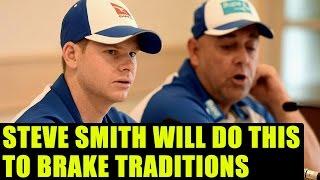 India vs Australia: Steve Smith to brake traditions before Pune Test | Oneindia News