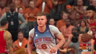 2021-2022 Raptors vs Knicks