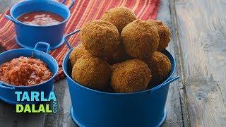 Fried Vegetable Balls, Starter recipe by Tarla Dalal