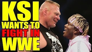 KSI Wants To Fight In WWE! BAD News For AEW! WWE Wrestlemania 36 Plans Leaked! Wrestling News