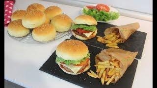Hamburger Tarifi / Hamburger Ekmeği ve Köftesi Nasıl Yapılır / Hayalimdeki Yemekler