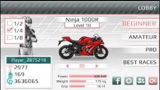 drag racing: bike edition (Tune motor ninja)