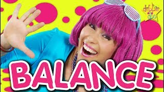 Balance On One Foot | Action Song | Videos For Kids | Dance Song for Children | Debbie Doo