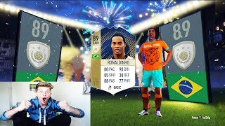 FIFA 18 - RONALDINHO ICON IN A PACK OPENING! ⛔️🔥 TOP 10 ICON PACKS - Ultimate Team Deutsch