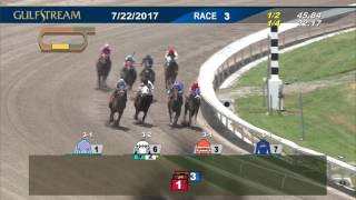 Gulfstream Park Race 3 | July 22, 2017