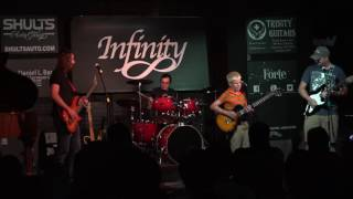 Caleb & Colin performing at Infinity's Kaleidoscope Night