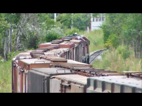 HD Trem Expresso ALL saindo de Santa Maria RS