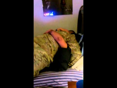 Airman coming home from war surprises brother