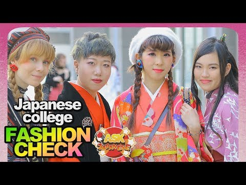 HOT JAPANESE GIRLS and BOYS new FASHION TRENDS at Bunka Fashion College Tokyo, Japan