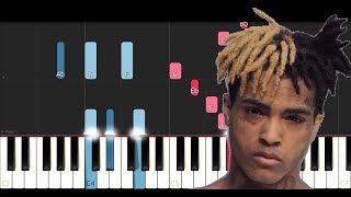 XXXTentacion - Sad! (Piano Tutorial)