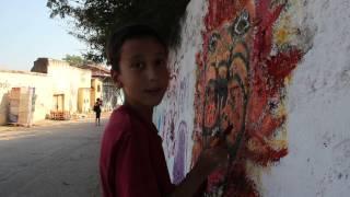 Adalar Sokak Festivali - Barışa el ver duvarı, Heybeliada