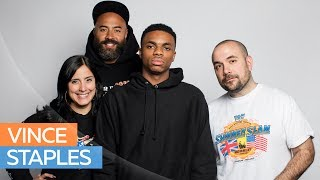 Vince Staples Gets Real & Uncensored w/ Ebro in the Morning