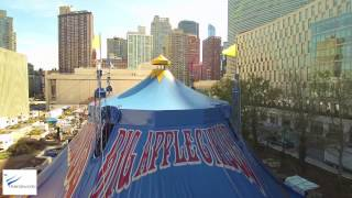 Aerialworks - Big Apple Circus - in Ultra High Definition 4k