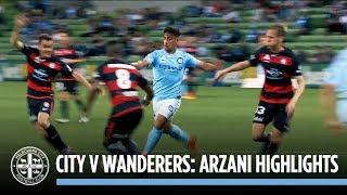 City v Wanderers: Arzani Highlights
