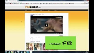 How-To download movies from vodlocker.com