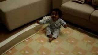 Aayush-- Masti while sleeping