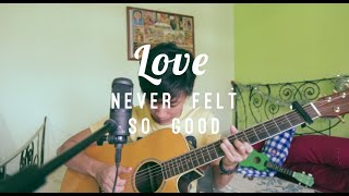 Michael Jackson - Love Never Felt So Good (Live Acoustic Cover) - Shawne Koh