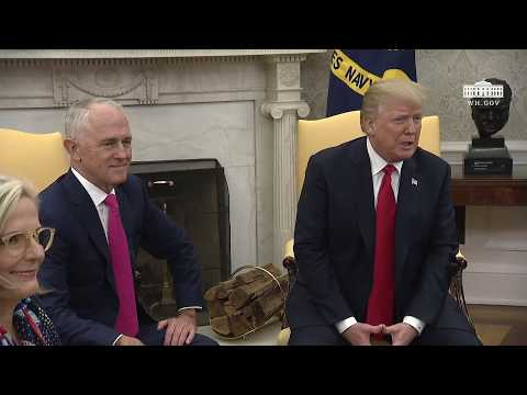 Xxx Mp4 President Trump Participates In A Meeting With Prime Minister Turnbull 3gp Sex
