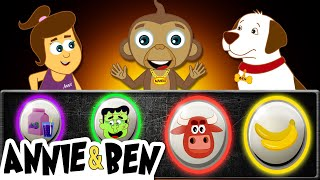 Pick The Correct One | Fun Games, Baby Songs + More Nursery Rhymes for Kids by Annie, Ben & Mango