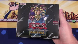 Yugioh Dark Side of Dimensions Movie Pack Box Unboxing - More Blue-Eyes & Dark Magician Cards