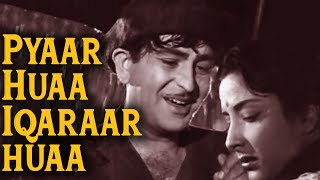 Pyar Hua Ikraar Hua | Raj Kapoor | Nargis | Shree 420 (1955) | Bollywood Evergreen Song