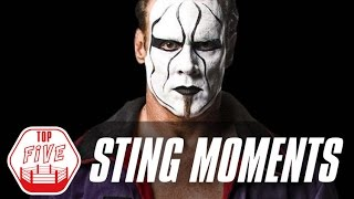 Sting's Top 5 TNA Moments | Fight Network Flashback