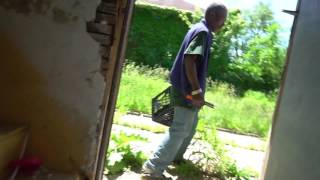 Thief Encounter Coming from The Basement inside Abandoned House with the Water On