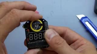 Sainsmart DIY LED watch kit Part II