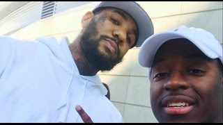 """WE MET RAPPER """"THE GAME"""" @ THE LAKERS VS CLIPPERS GAME! (Ft PONTIACMADEDDG)"""