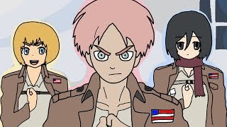 Attack on Titan Opening 1 - Paint Version