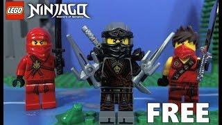 FREE LEGO Ninjago Cole