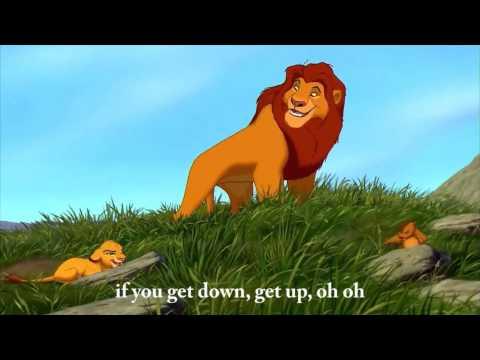 The Lion King Waka Waka Shakira English Lyrics On Screen