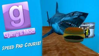Garry's Mod Sandbox Fun - Epic Speed Pad Course