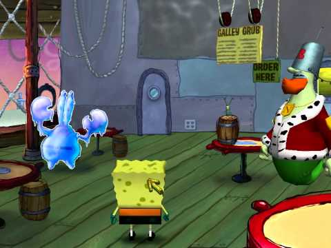 Spongebob the Movie PC Game Chapter 8 Planktopolis Part 1 5