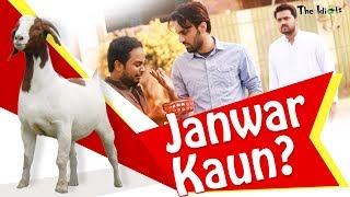 Janwar Kaun? | Bakra Eid Special | The Idiotz