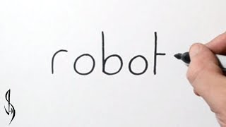 How to Turn Words Robot into a Cartoon #32