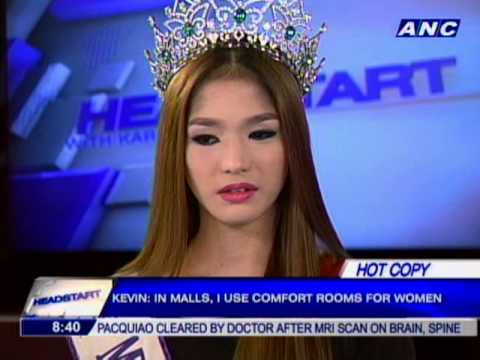 Kevin Balot crowned Miss International Queen 2012