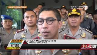 4 dari 17 Tahanan Polres Malang yang Kabur Ditangkap