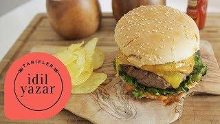 Ev Yapımı Hamburger Tarifi - İdil Yazar - Yemek Tarifleri - Homemade Juicy Burger