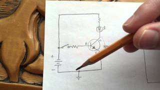 NPN vs. PNP Transistors as Common-Emitter Switches