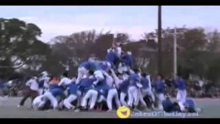 Bo-Taoshi   Japanese Pole Toppling Game (CRAZY)(MUST WATCH)