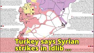Turkey says Syrian strikes in Idlib undermine political process