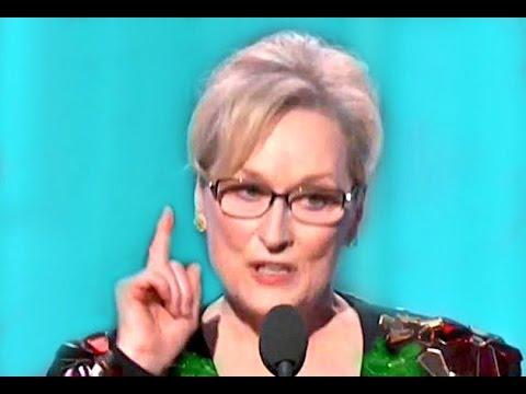 Meryl Streep Speech  Golden Globes