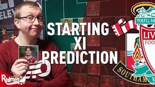 Southampton v Liverpool | Starting XI Prediction LIVE