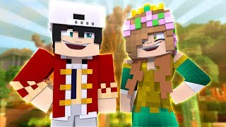 RAVEN AND LITTLE KELLY BECOME KING AND QUEEN?! Minecraft Custom Roleplay
