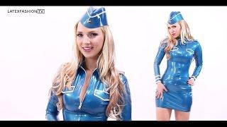 Ancilla Tilia Latex Aviator Interview | LatexFashionTV