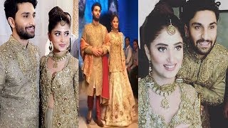 Sajal Aly and Ahad Raza Looking Gorgeous Together
