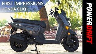 Honda Cliq : First Impression : PowerDrift